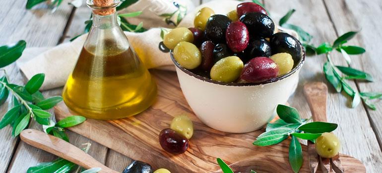 Оливки для правильного питания